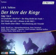 Der Herr der Ringe. Sonderausgabe. 11 CDs. 756 Min.