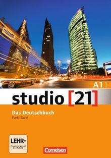 studio [21] - Grundstufe: A1: Teilband 1 - Das Deutschbuch (Kurs- und Übungsbuch mit DVD-ROM): DVD: E-Book mit Audio, interaktiven Übungen, Videoclips