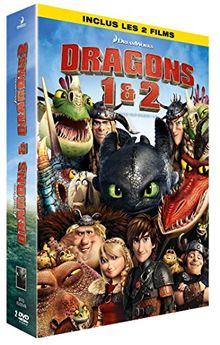 Coffret dragons : dragons ; dragons 2 [FR Import]