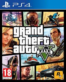 GTA 5 [FR] PEGI Multilingual [PS4]