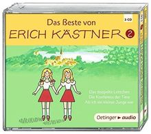 Das Beste von Erich Kästner 2 (3CD): Hörspiele, ca. 165 Min.