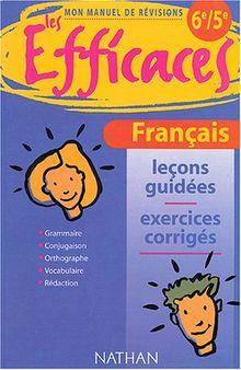 Français 6e / 5e (Efficaces Colle)