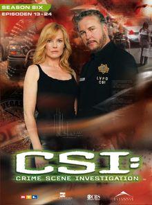 CSI: Crime Scene Investigation - Season 6.2 (3 DVD Digipack)