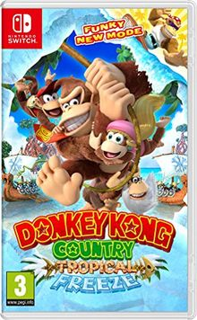Donkey Kong Country Tropical Freeze : SWITCH , FR