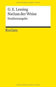 Nathan der Weise: Studienausgabe