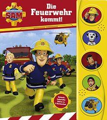 Feuerwehrmann Sam - Labyrinth-Soundbuch für Kinder ab 18 Monaten - Pappbilderbuch mit 5 Geräuschen