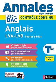 Annales Bac 2021 Anglais Terminale - Corrigé (Annales ABC BAC C.Continu)