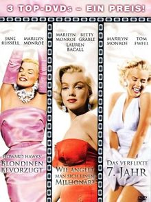 Marilyn Monroe - Box-Set [3 DVDs]