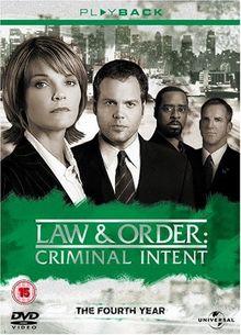 Law & Order: Criminal Intent - Season 4 [5 DVDs] [UK Import]