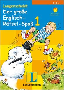 Langenscheidt Der große Englisch-Rätsel-Spaß 1
