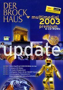Der Brockhaus multimedial 2003 premium Update CD