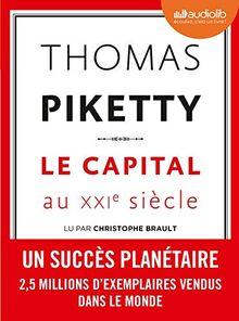 Le Capital au XXIe siècle: Livre audio 3 CD MP3 (Documents et essais)