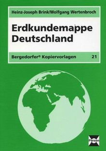 Erdkundemappe Deutschland: 5. bis 10. Schuljahr