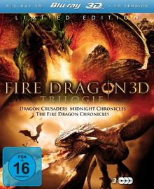 Fire Dragon 3D Trilogie - Limited Fantasy Edition [3D Blu-ray] [Limited Edition]