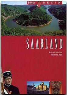 SAARLAND - 72 Seiten mit über 100 Bildern + 4 Postkarten aus der Region - Original STÜRTZ-Regio