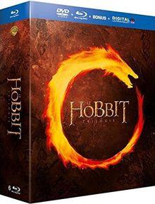 Coffret trilogie le hobbit : un voyage inattendu ; la désolation de smaug ; la bataille des cinq armées [Blu-ray]