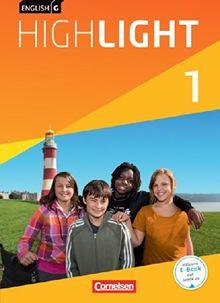 English G Highlight - Hauptschule: Band 1: 5. Schuljahr - Schülerbuch: Festeinband