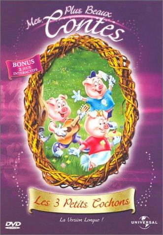 Mes plus beaux contes les 3 petits cochons de dessin anime - Dessin anime les 3 petit cochons ...