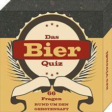 Bier-Quiz - 66 unterhaltsame Fragen rund um den Gerstensaft - Das perfekte Partyspiel und das ideale Geschenk für jeden Bierliebhaber: 66 Fragen rund um den Gerstensaft