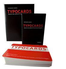 TYPOCARDS - Regeln und Begriffe zur Mikrotypografie: Vorzugsausgabe