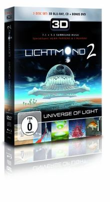 Lichtmond 2 - Universe Of Light (3D Blu-ray Set Se+DVD+CD) [Blu-ray]