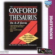Oxford Thesaurus