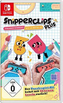 Snipperclips Plus - Zusammen schneidet man am besten ab! - [Nintendo Switch]