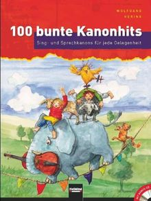 100 bunte Kanonhits, m. Audio-CD (Mini)