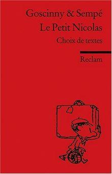 Le Petit Nicolas: (Fremdsprachentexte): Choix de textes