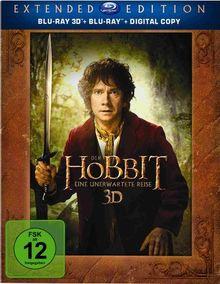 Der Hobbit: Eine unerwartete Reise - Extended Edition 3D/2D (5 Discs)