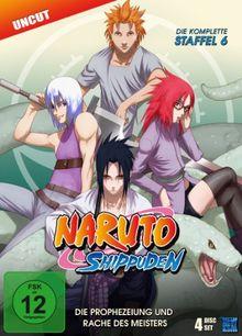Naruto Shippuden - Staffel 6: Die Prophezeiung und Rache des Meisters, Episoden 333-363 (uncut) [4 DVDs]