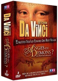 Coffret Dan Brown : Le code Da Vinci / Anges ou démons