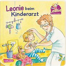 Leonie beim Kinderarzt: Pappbilderbuch mit Klappen