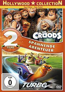 Die Croods / Turbo [2 DVDs]