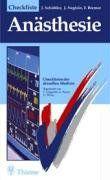 Checklisten der aktuellen Medizin, Checkliste Anästhesie