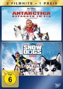 Antarctica - Gefangen im Eis / Snow Dogs - 8 Helden auf 4 Pfoten [2 DVDs]