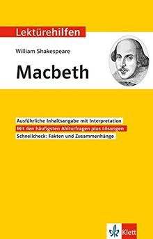 "Lektürehilfen William Shakespeare ""Macbeth"""