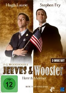 Jeeves and Wooster - Herr und Meister, Box 2, Episode 14-23 (3 Disc Set)