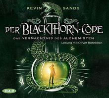Der Blackthorn-Code - Das Vermächtnis des Alchemisten: Lesung mit Oliver Rohrbeck (5 CDs)