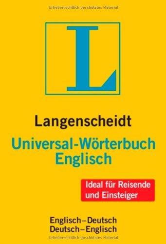 Langenscheidt universal w rterbuch englisch englisch for Ubersetzung englisch deutsch text