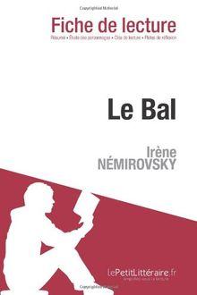 Le Bal d'Irène Némirovski (Fiche de lecture)