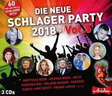 Die Neue Schlager Party,Vol.5 (2018)