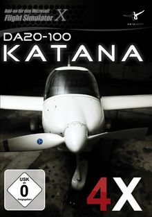 Flight Simulator X - Diamond DA20-100 Katana 4X