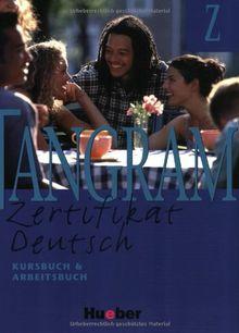 Tangram Z. Zertifikat Deutsch: Tangram Z, neue Rechtschreibung, Kursbuch und Arbeitsbuch: Kursbuch & Arbeitsbuch 3a