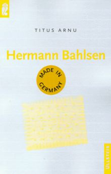 Hermann Bahlsen. ( Made in Germany).