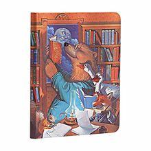Paperblanks - Fröhliche Gestalten Geschichten im Mondschein - Notizbuch Midi Unliniert (Merrymakers)