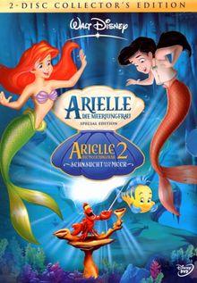 Arielle, die Meerjungfrau / Arielle, die Meerjungfrau 2 - Sehnsucht nach dem Meer [Collector's Edition] [2 DVDs]
