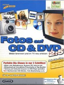 Fotos auf CD & DVD 2.5