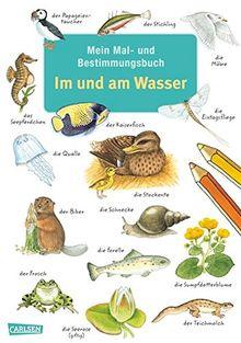 Mein Mal- und Bestimmungsbuch - Im und am Wasser