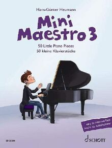 Mini Maestro: 50 kleine Klavierstücke. Band 3. Klavier. (Mini Maestro: 50 Little Piano Pieces, Band 3)